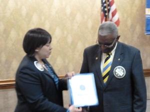 Perry Henderson RI Service Award 2