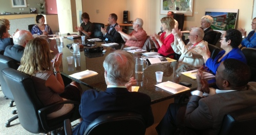 Rotary Board Members Gather on June 2 at Food Concepts