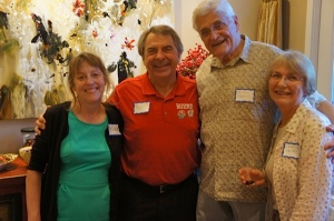 From left: Nona Hagen, Dan Dieck, Mike Casey & Carolyn Casey