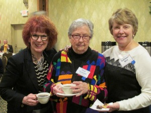 Susan Schmitz, Carol Toussaint & Kathleen Woit