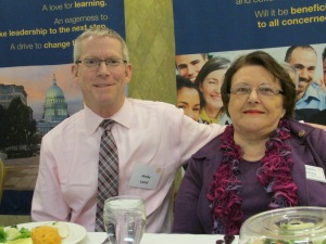 Andy Land and Melanie Ramey