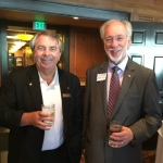 Dan Dieck & President Elect Ellsworth Brown