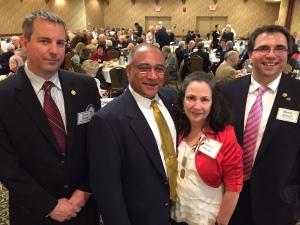 From left: Jason Beren, Jorge Hidalgo, Andrea Hidalgo and Moses Altsech