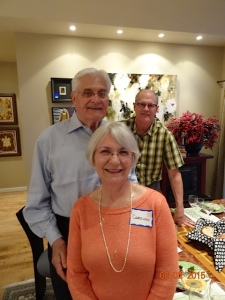 Mike & Carolyn Casey with Bill Montei