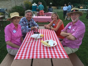 From left: Dorothy Brown, Randy Banks, Donna Jurek, and Ellsworth Brown