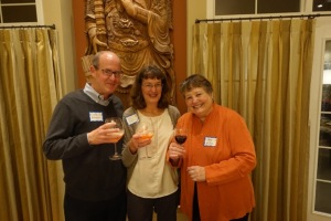 From left: Mark Brant, Tracy Brant and Patty Wilson