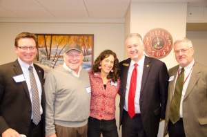 From left: Bob Sorge, Jim Ruhly, Rachel Krinsky, Gary Klein & Ron Luskin